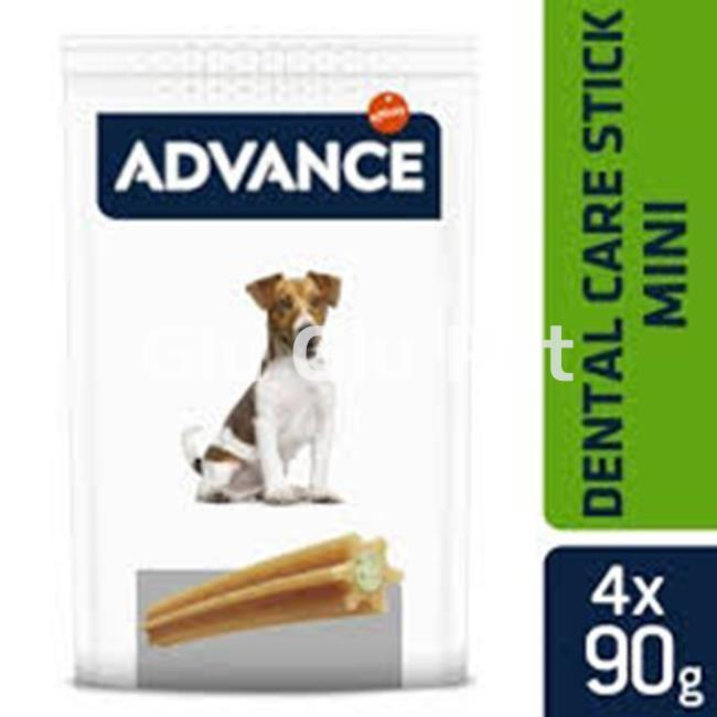 Advance Dental Snaks mini dogs 7uds. - Imagen 1