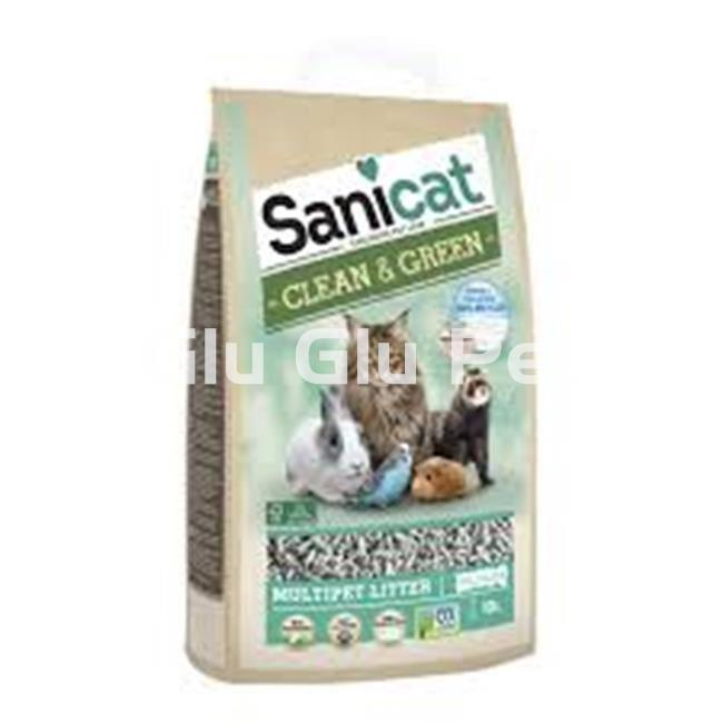Sanicat Clean & Green - sustrato de papel biodegradable - Imagen 1